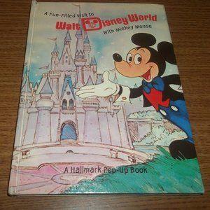1972 A Fun Filled Visit Walt Disney World Mickey